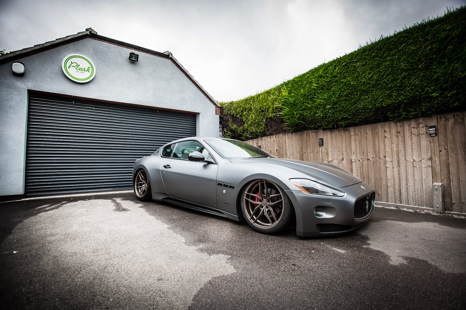 Maserati Granturismo on Air Ride suspension