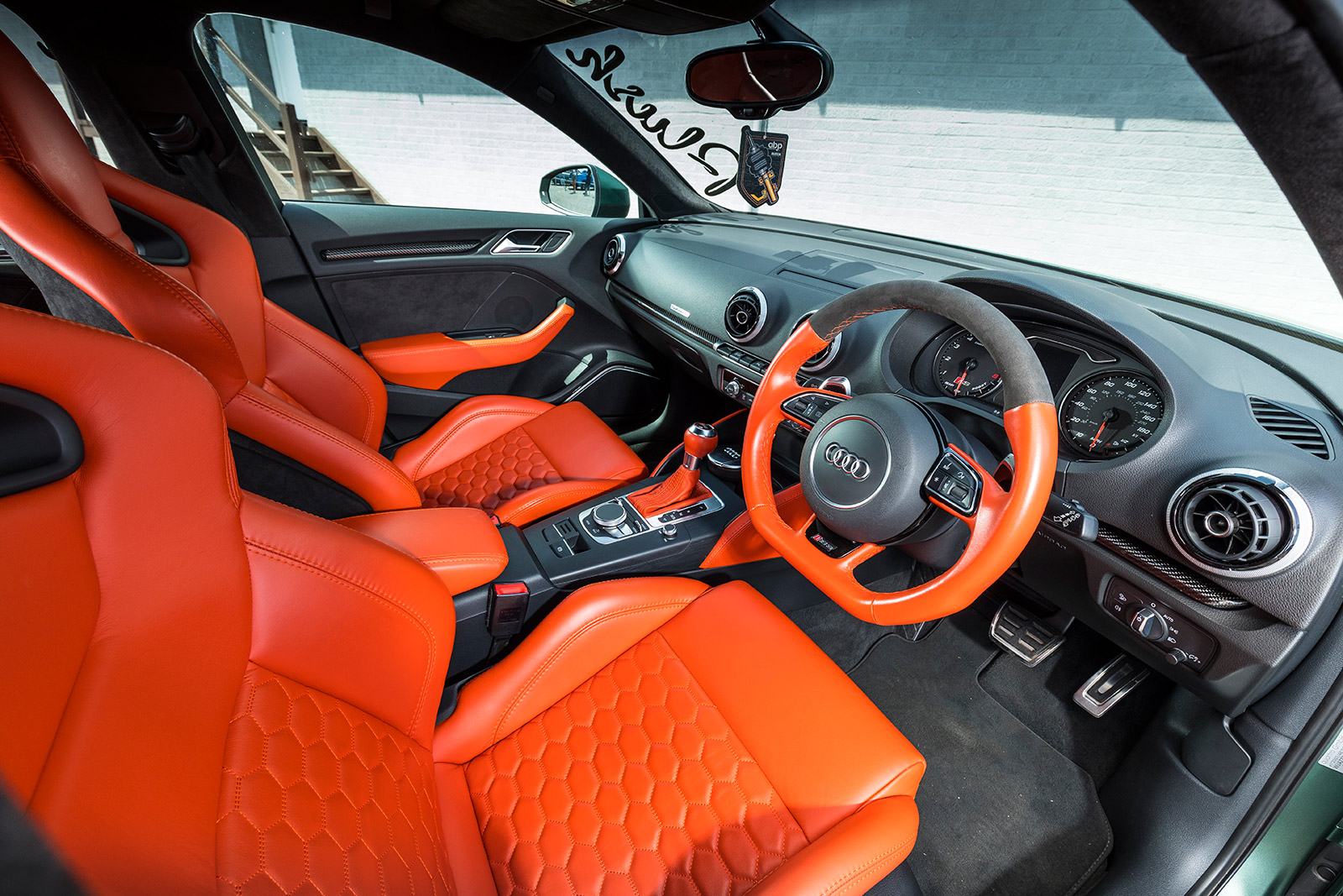 Audi Rs3 Bespoke interior